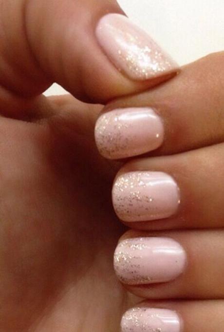 bridal wedding nails