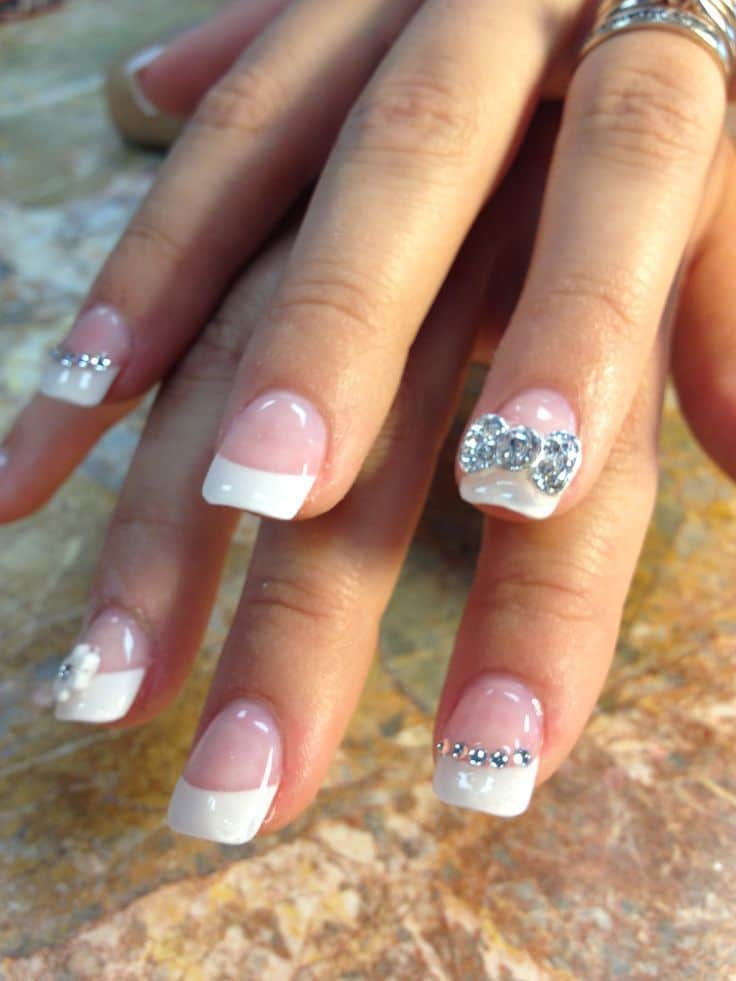 80 Amazing Wedding Nail Designs Perfect For Brides