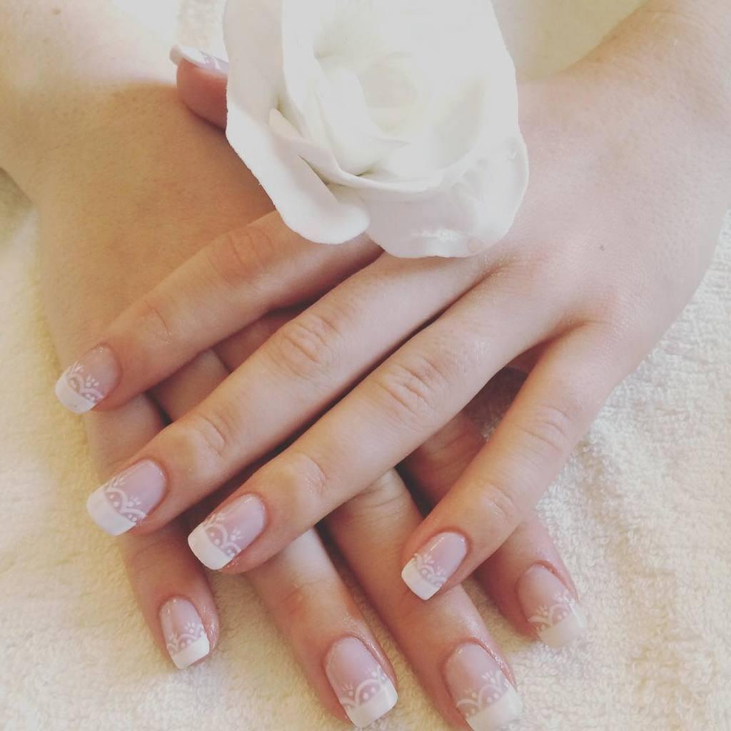 wedding nail designs 21