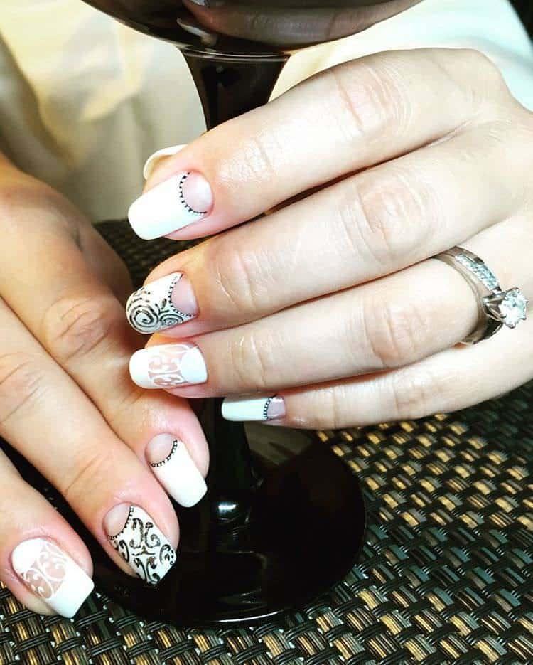 wedding nail designs 23