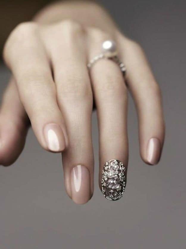 wedding nail designs 35