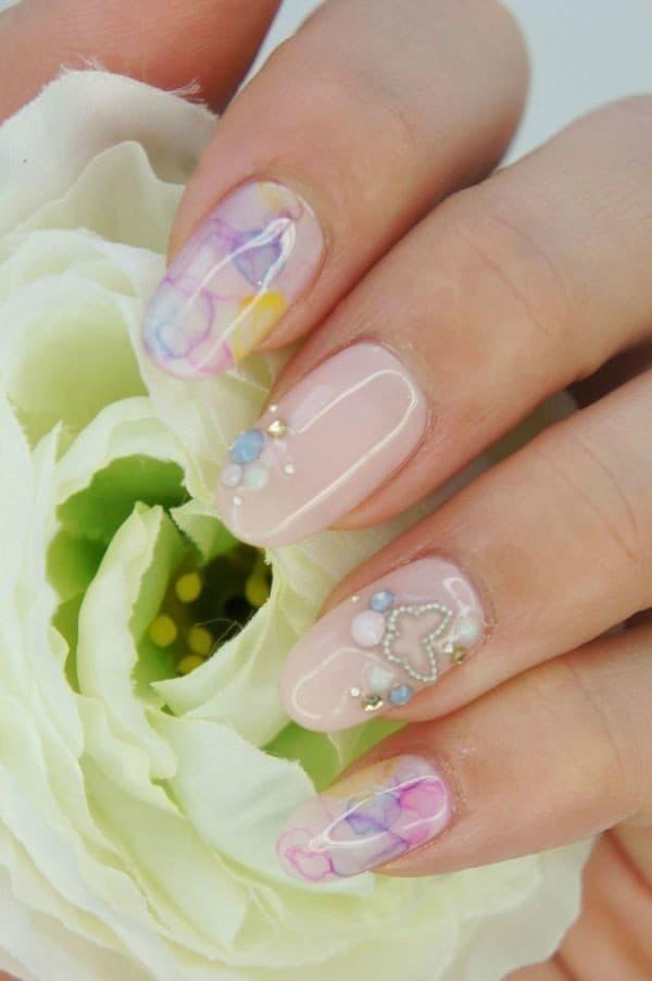 wedding nail designs 37