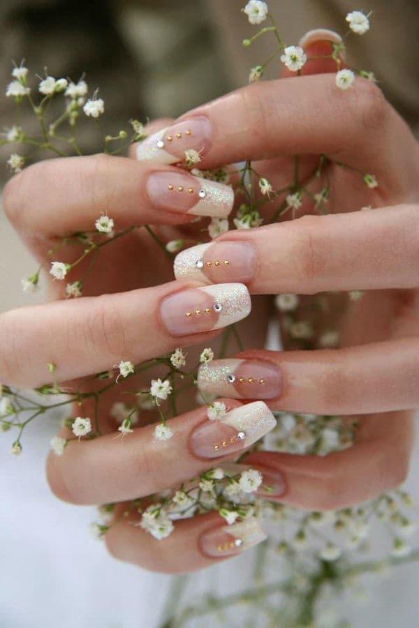 wedding nail designs 38