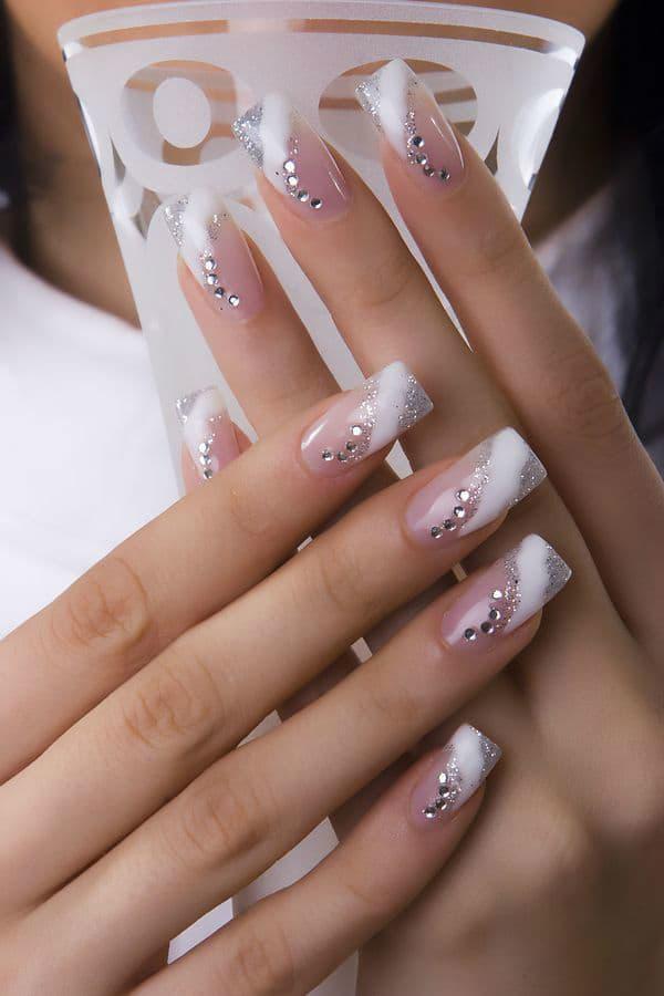 wedding nail designs 39
