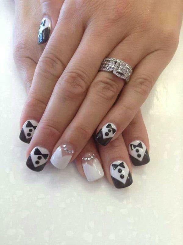 wedding nail designs 40