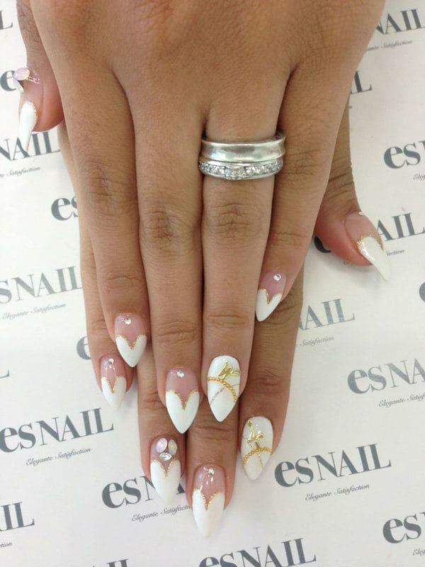 wedding nail designs 41