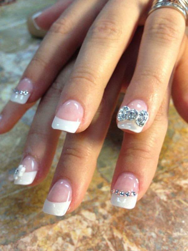 wedding nail designs 42