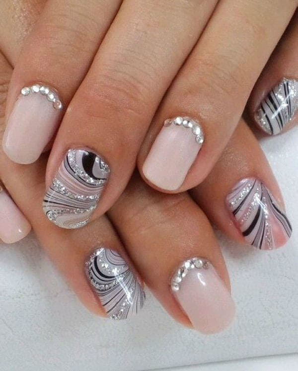 wedding nail designs 43