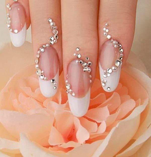 wedding nail designs 44