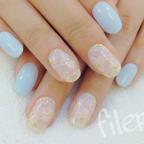 wedding nail designs 46