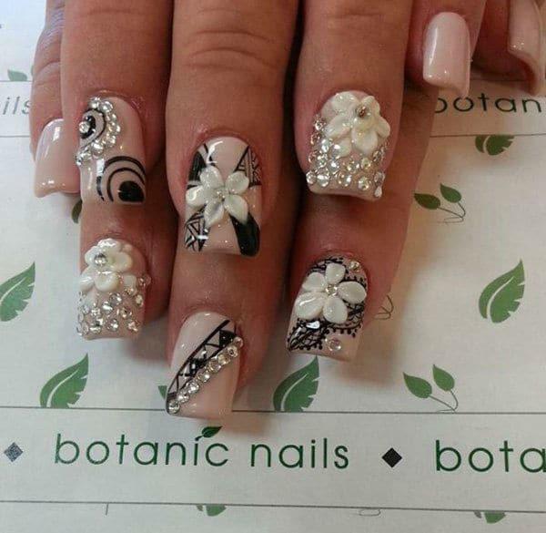 wedding nail designs 47