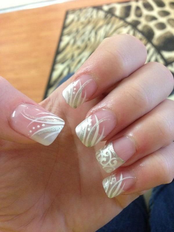 wedding nail designs 49