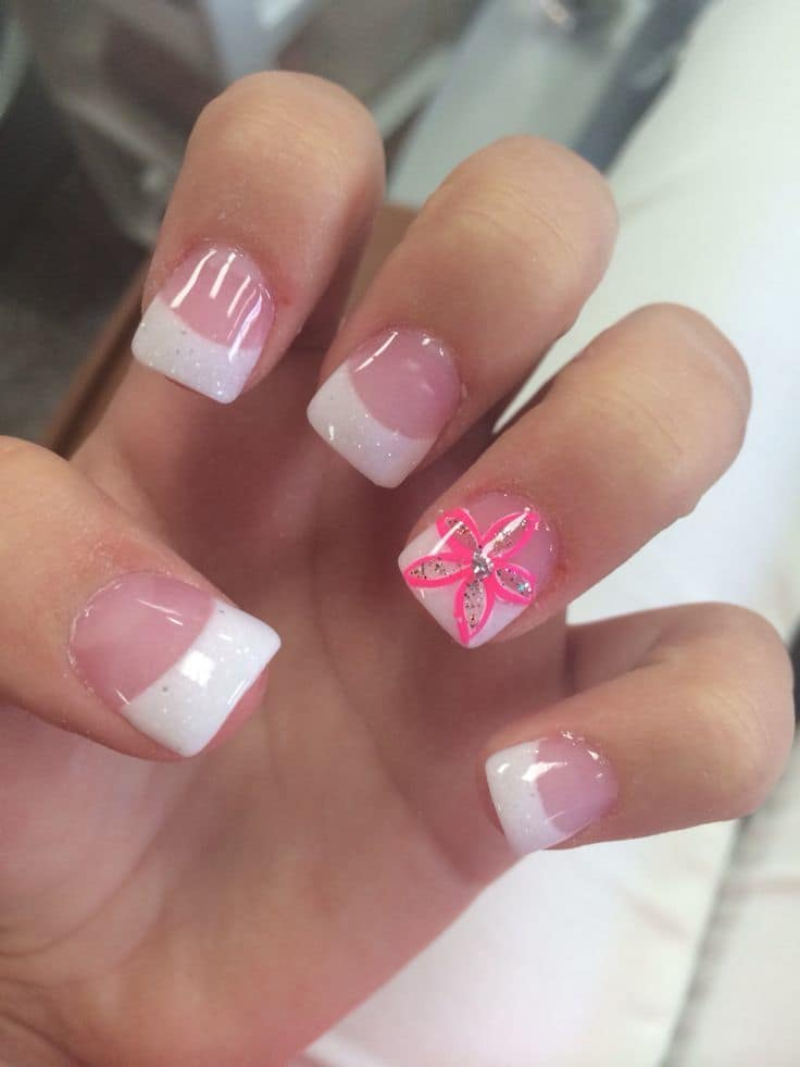 10 Appealing White Tip Nail Designs First Impression Counts