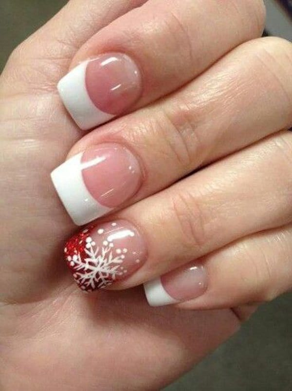 Christmas Cheers white nail color
