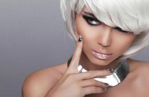 Silver Nail Design