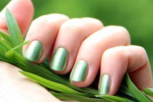 light green nail