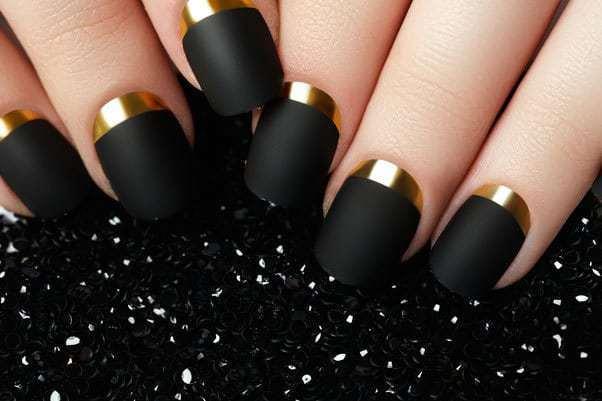 Black & Gold Nail Designs: 51 Fabulous Ways To Rock'em