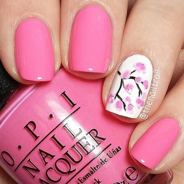 pink-camo-nail-design