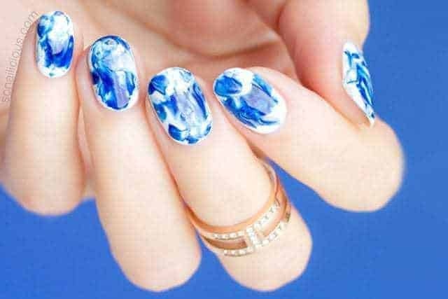 40 Hottest Marble Nail Designs Ideas To Rock