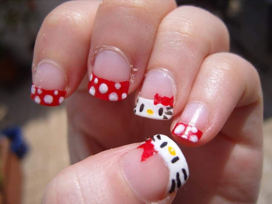20 Hello Kitty Claw Nail Designs Try The Trend
