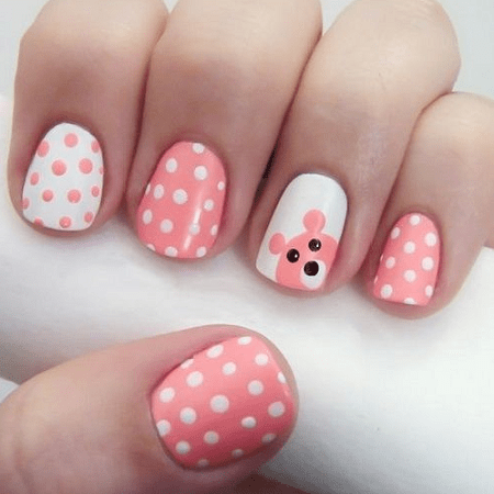 25 Cute Beautiful Nail Designs For Kids Naildesigncode