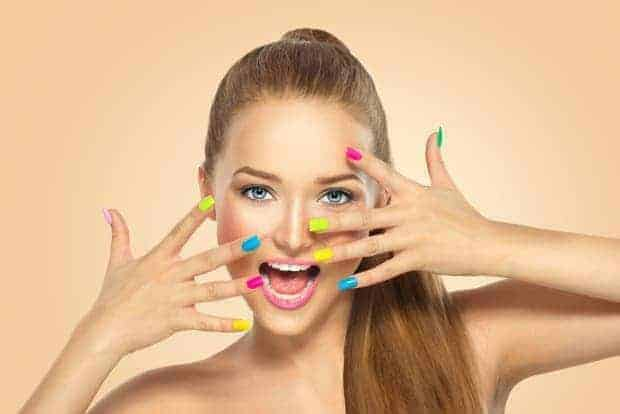 65 Beautiful Colorful Nail Designs for All Kinds of Nails