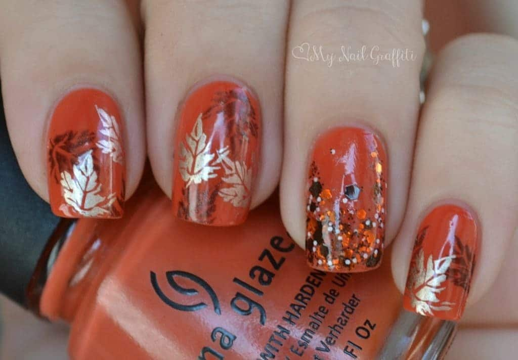 20 Ideal Fall Nail Designs to Rock - NailDesignCode