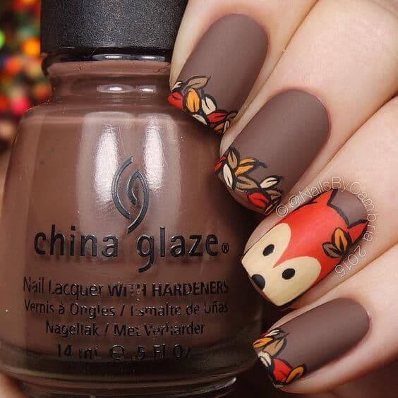 20 Ideal Fall Nail Designs To Rock Naildesigncode