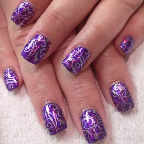 75 Incredible Purple Nail Design Ideas For 2018