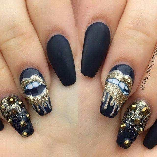 20 Epic Dope Nail Designs For Trendy Women Naildesigncode - Dope Nail Designs 2018 - Design And House Design Propublicobono.Org
