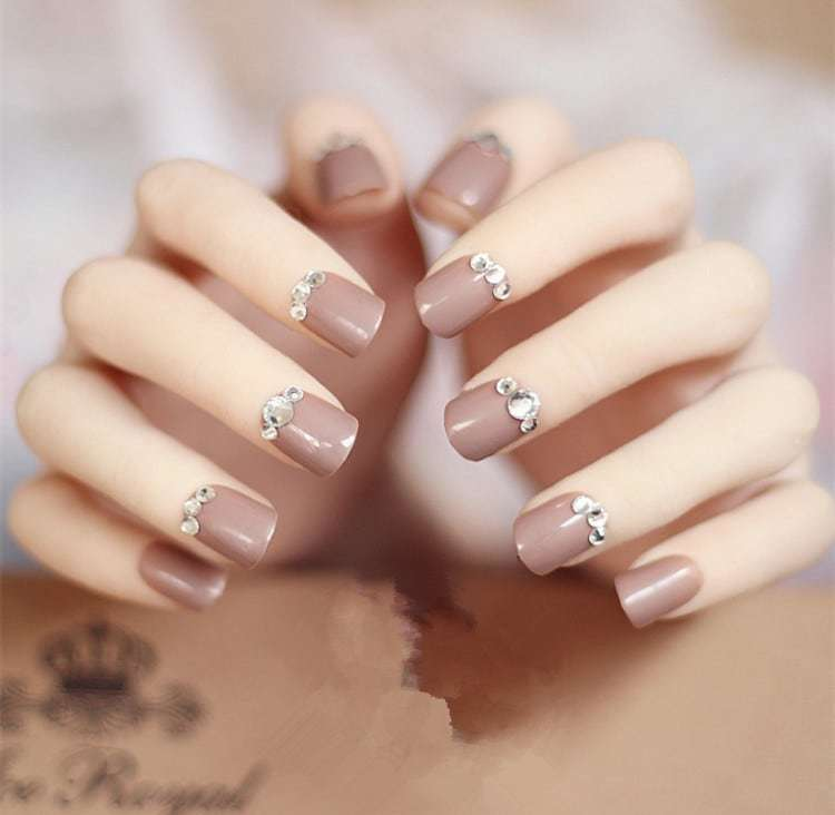 20 Aristocratic Bling Nail Designs For 2018 Naildesigncode