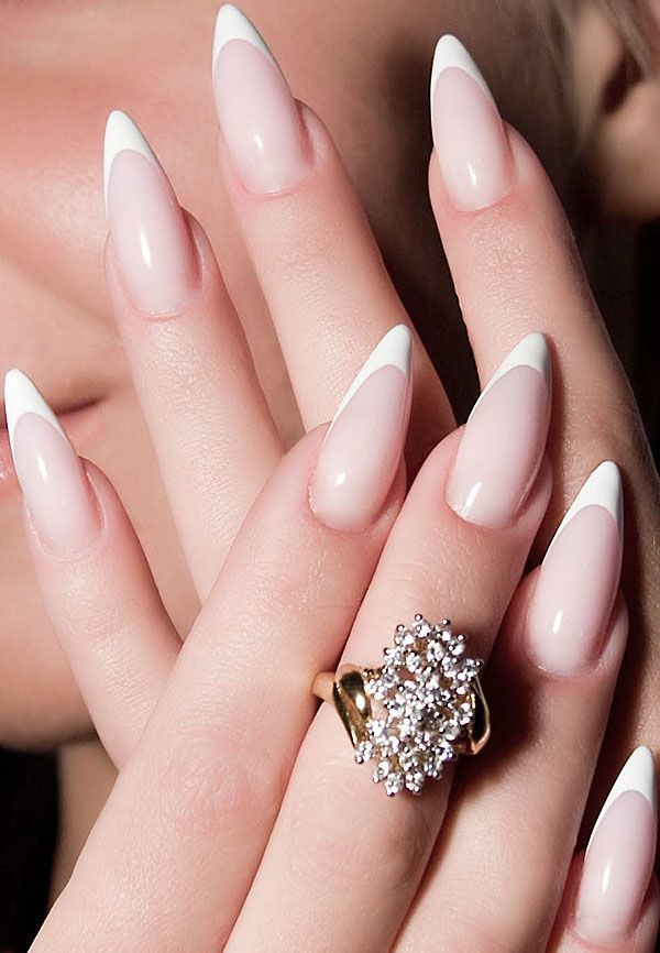 French pointy Nail idea