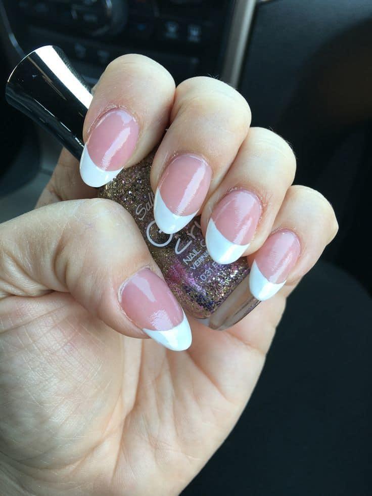 girl favorite Almond Nail design