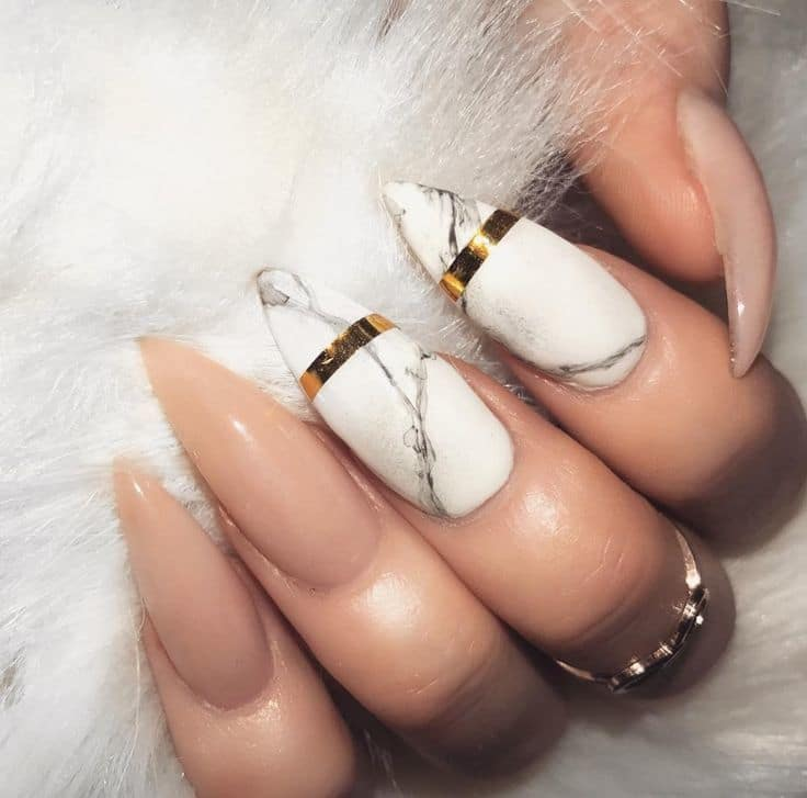 This dope nail design is a true representation of women who like to be  treated nicely. With stunning manicure like this everyone will want to see  ... - 20 Epic Dope Nail Designs For Trendy Women – NailDesignCode