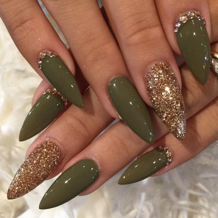 Nails With Gems | Best Nail Designs 2018