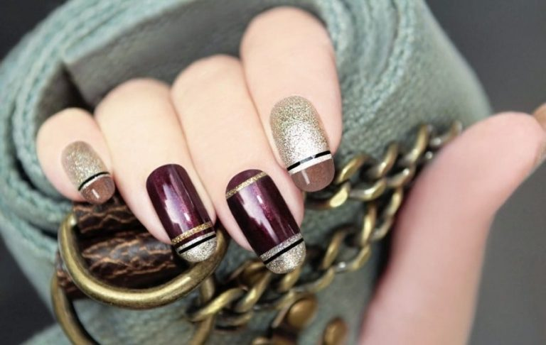 35 Alluring Line Nail Designs To Try