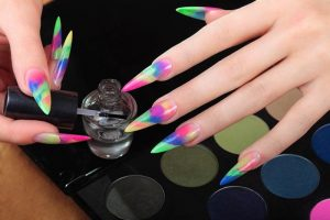 Pointed Nail Design