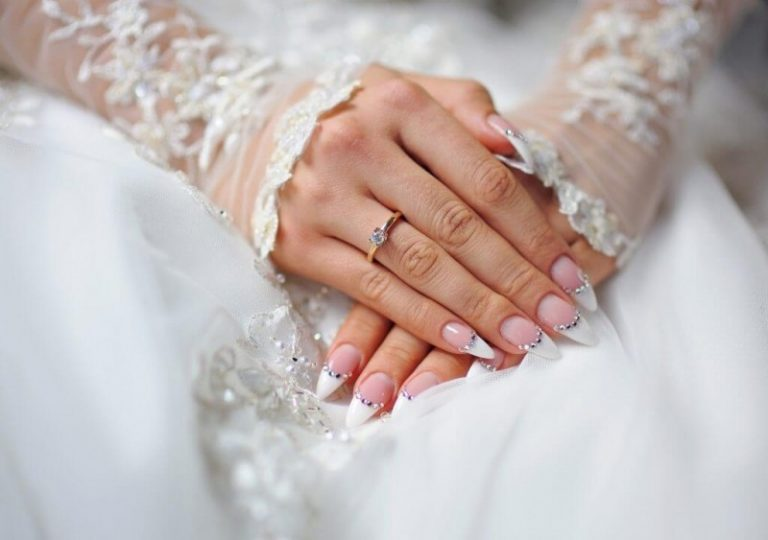 80 Gorgeous Wedding Nail Ideas for Your Special Day