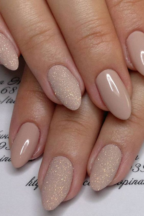 soft and beautiful Bridal Nail Design for girl - 20 Magical Bridal Nail Designs For The Big Day – NailDesignCode