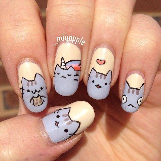 20 ravishing nexgen nails to upscale your style naildesigncode meow down with nexgen nail idea prinsesfo Choice Image