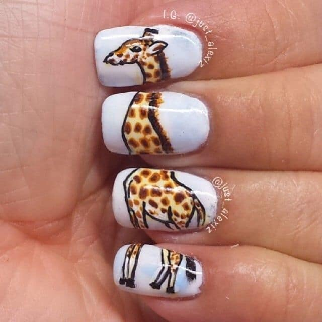Animal Print Nail Designs: Try Out These 20 Ideas ...