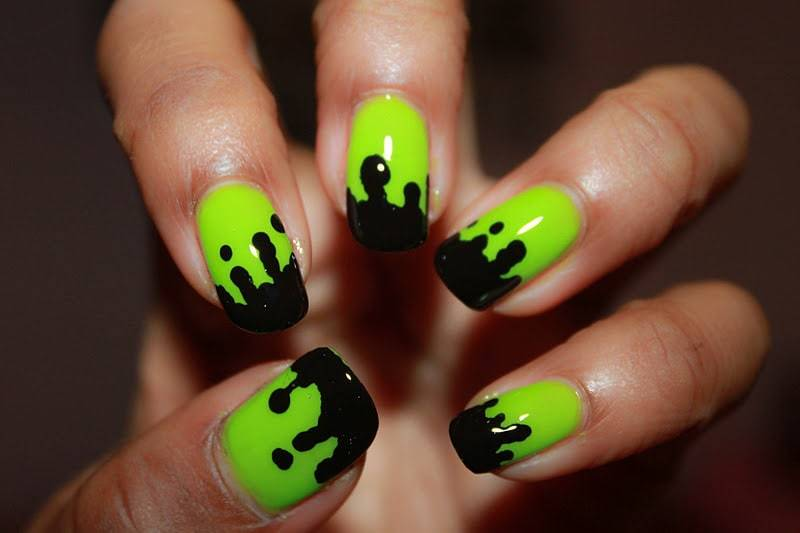 35 Soothing Lime Green Nail Designs to Die for ...