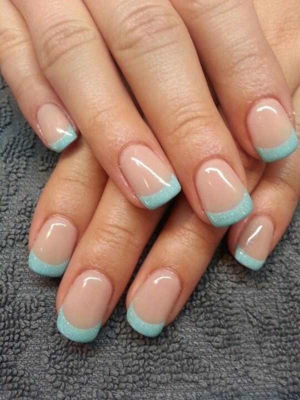 20 Posh Tiffany Blue Nail Polish Designs Naildesigncode