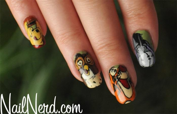 creative owl nail design for kids