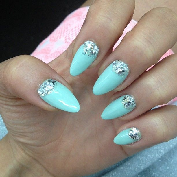 Tiffany Blue Nail Art for Princes - 20 Posh Tiffany Blue Nail Polish Designs – NailDesignCode