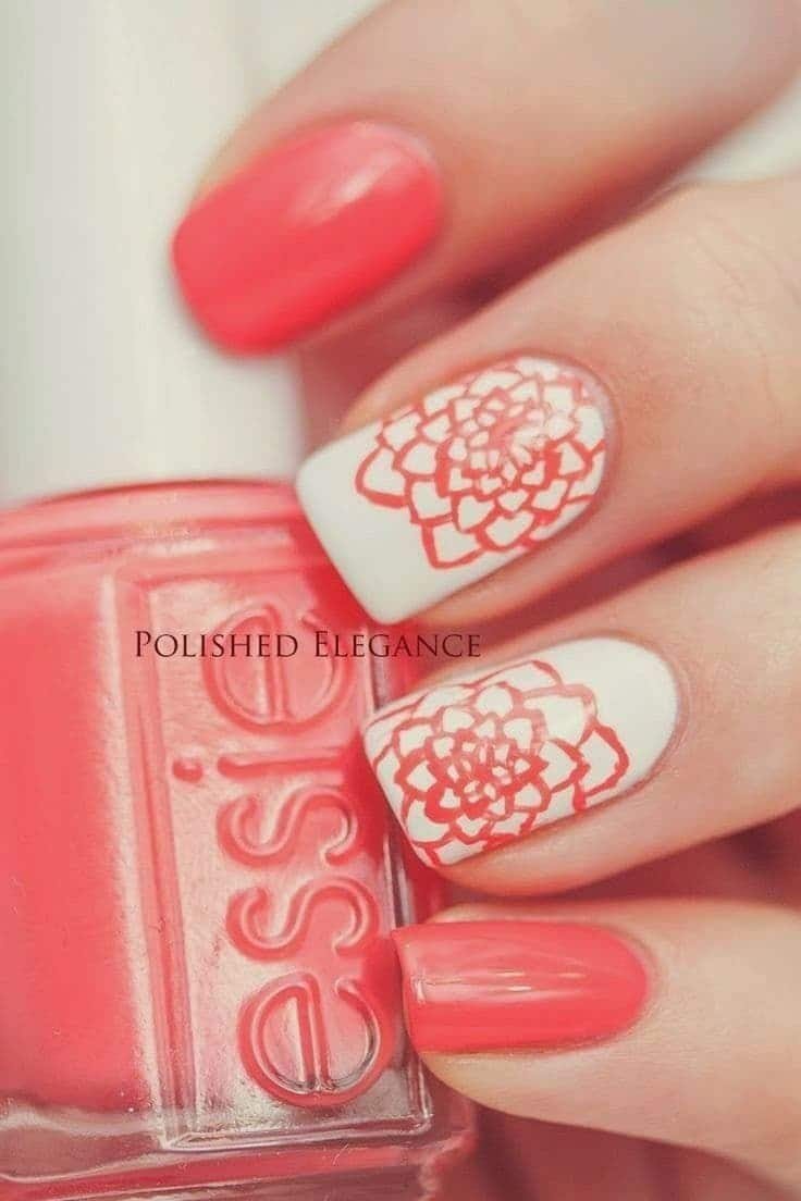 Classic Spring Nail Design