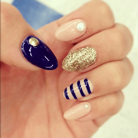 30 unique almond nail designs for 2020  naildesigncode