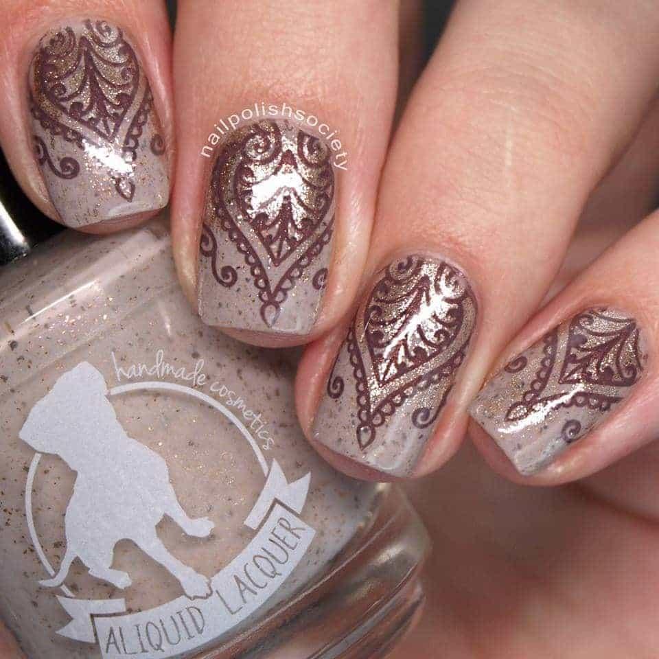silver brown Nexgen Nail color