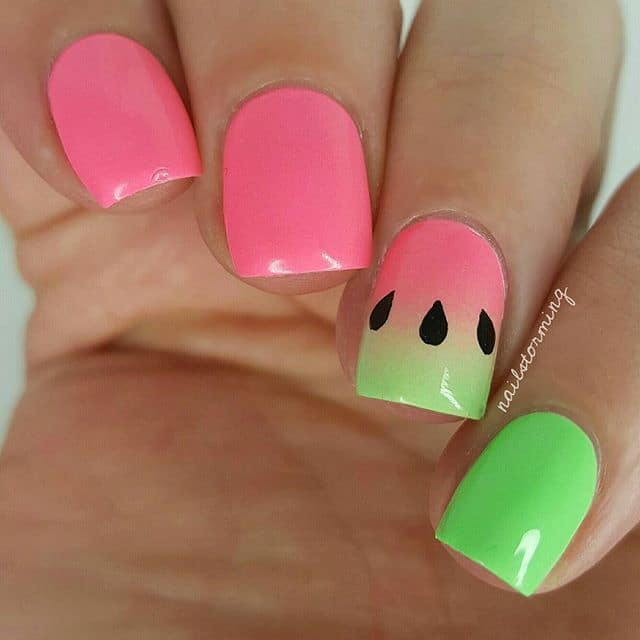 20 Soothing Lime Green Nail Designs To Die For Naildesigncode