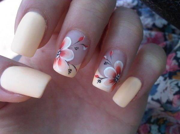 Cherry Blossom Nexgen Nail art your favorite